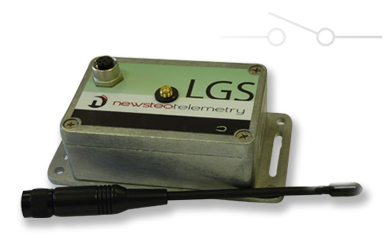 wireless transmission dry contact sensor