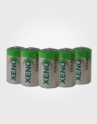 Set von 5 Stück, Batterien Lithium-Thyonil