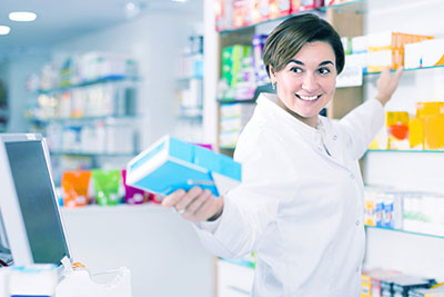 Registratore newsteo per farmacia