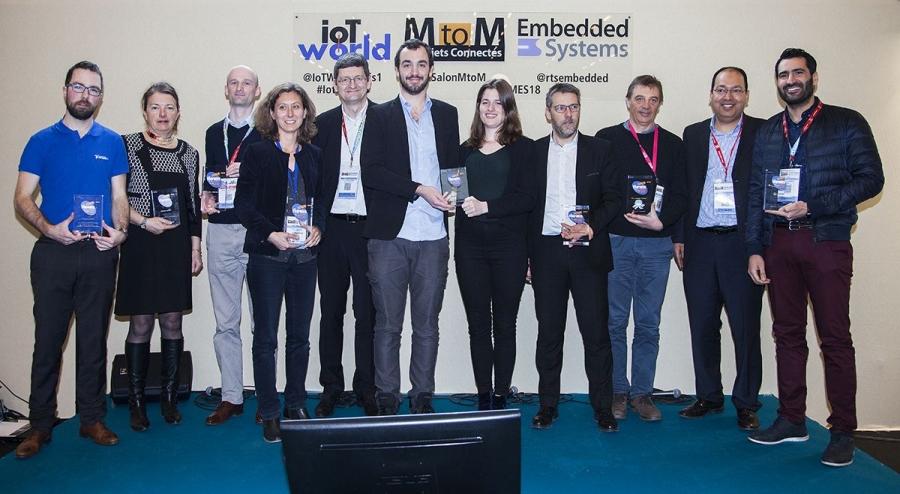 newsteo obtient le prix Objet connecté
