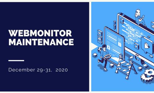 webmonitor maintenance